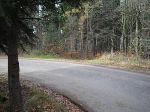 Tady by měla nová silnice odbočit