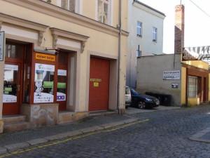 Pobočka v Liberci ve Frýdlantské ulici (směrem k pizzerii Maškovka)