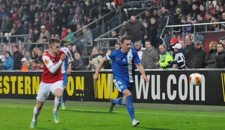 Slovan uhrál v Alkmaaru remízu a v Evropské lize končí