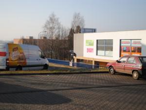 Jde o prodejnu Tesco v Pavlovicích, bývalou Duklu.