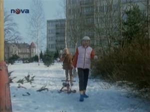 Jitka a Barča v Baltské ulici