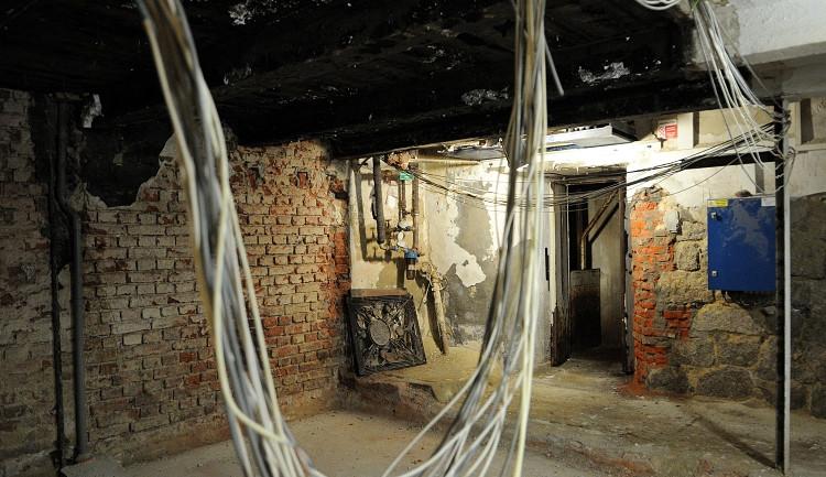 Přestavba Radničního sklípku začala. Foto: MML/ Jan Král
