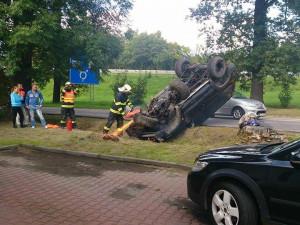 Neděle ve znamení dopravních nehod