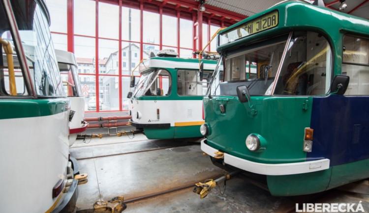 Vozovna libereckého dopravního podniku
