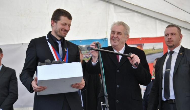 První den návštěvy prezidenta Miloše Zemana v Libereckém kraji