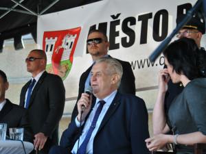 Třetí den návštěvy prezidenta Miloše Zemana v Libereckém kraji