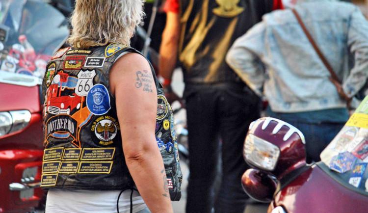 Sraz motocyklů Gold Wing