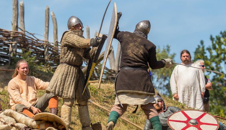 Curia Vítkov historická rekonstrukce bitvy