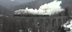 Parní lokomotiva 310.0134: Mikuláš v Liberci 2013