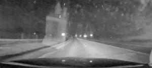 Pronásledování polského řidiče, který ujížděl bez placení z čerpací stanice