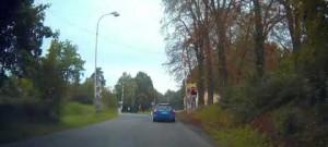 Jízda přes signalizační zařízení železničního přejezd