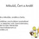 Mikuláš, Čert a Anděl až k Vám domů